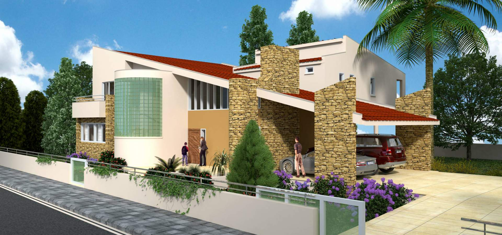 Konia Luxury Houses Exterior Design