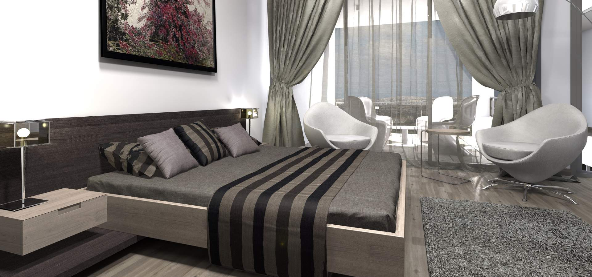 Konia Modern Luxury Residences Interior Design