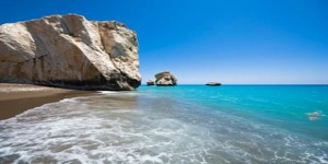 Rock of Aphrodite in Paphos