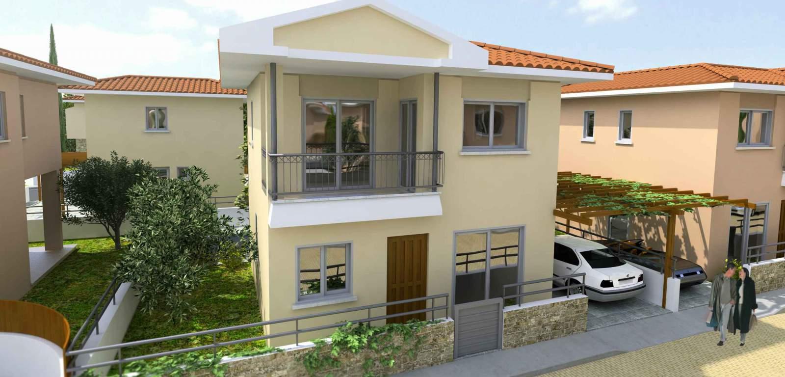 Вила 93 m² В Пафосе