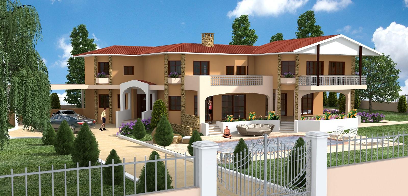 Вила 494 m² В Пафосе