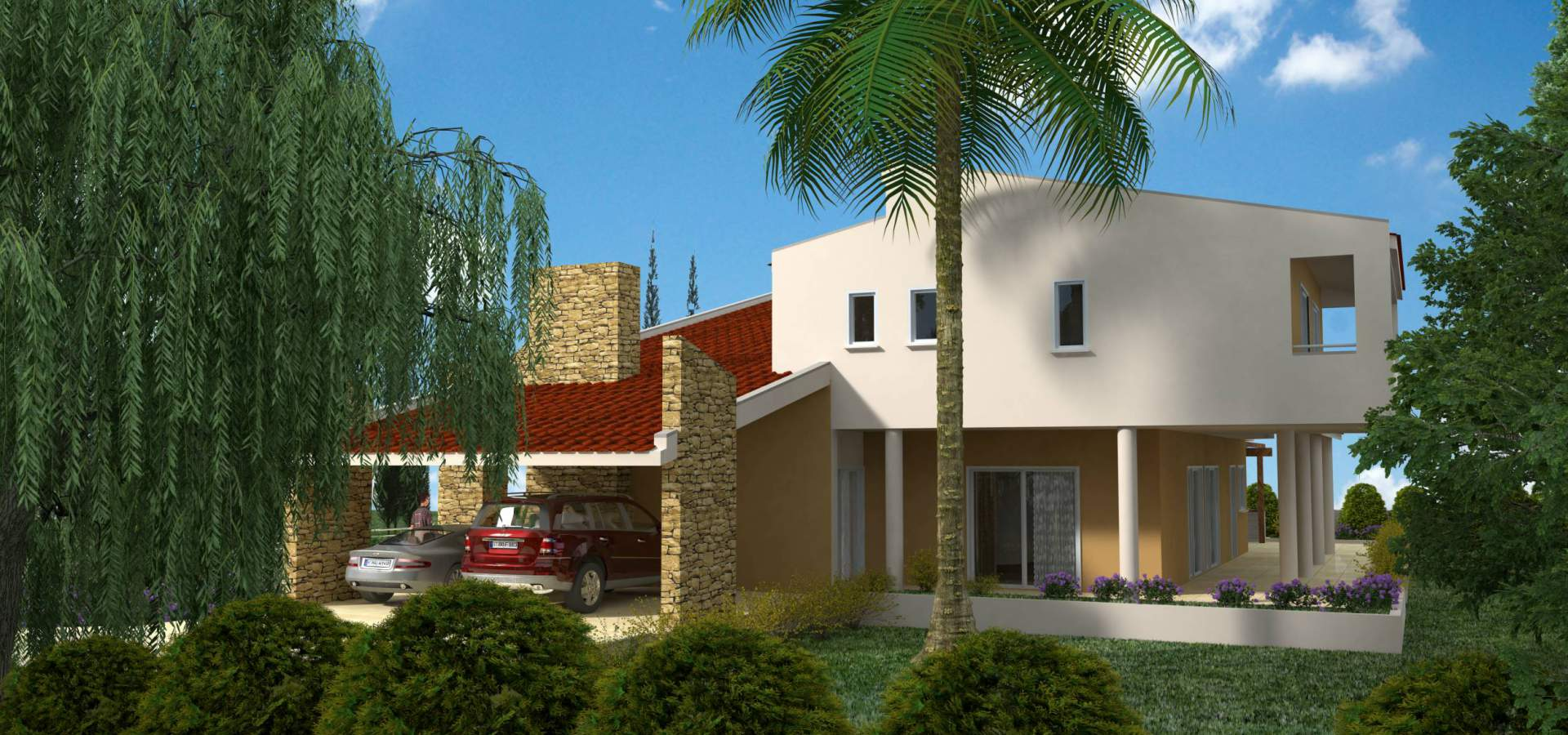 Konia Luxury Houses General View