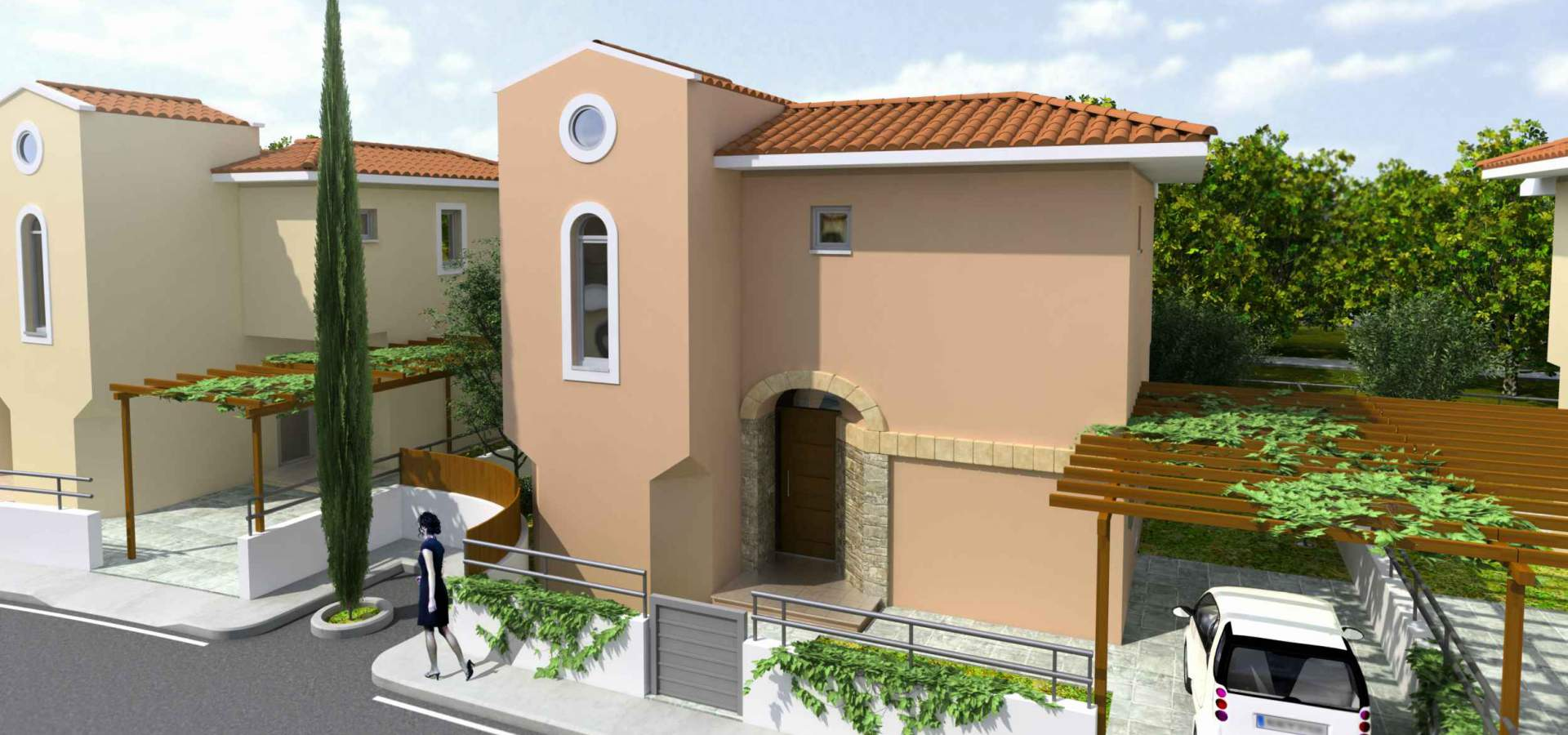 ASIMINA PARK, 2 bed townhouses, 2 and 3 bed villas in Kato