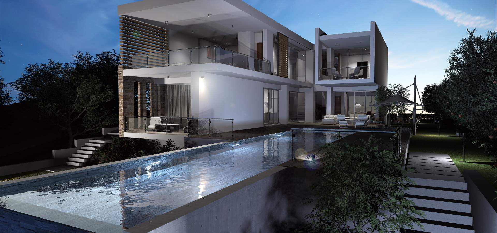 Konia Modern Luxury Residences Exterior Design