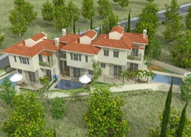 Luxurious villas at Konia Sunset by Constantinou Bros Properties
